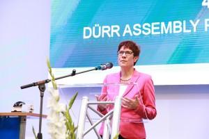 Annegret kramp karrenbauer, eventagentur peter richert events und incentives