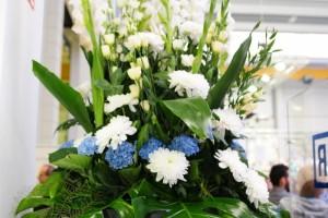durr-mitarbeiterfest-halleneinweihung-dekoration floral, eventagentur saarland peter richert events