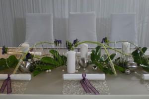 private-events-hochzeiten-geburtstage-Tischdekoration modern